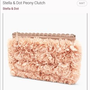 Stella and Dot Peony Clutch.